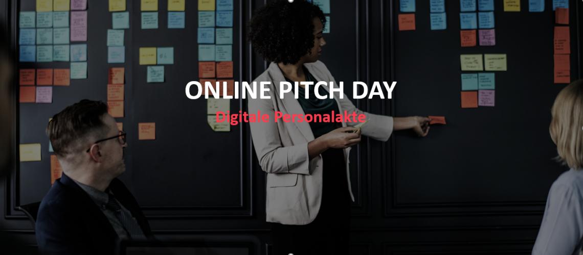 ONLINE PITCH DAY: Digitale Personalakte am 14. Juli