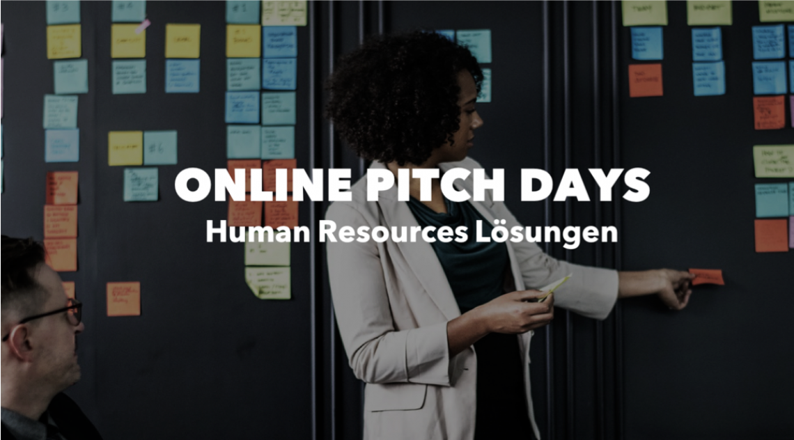 ONLINE PITCH DAY: Human Resources Lösungen am 15. September