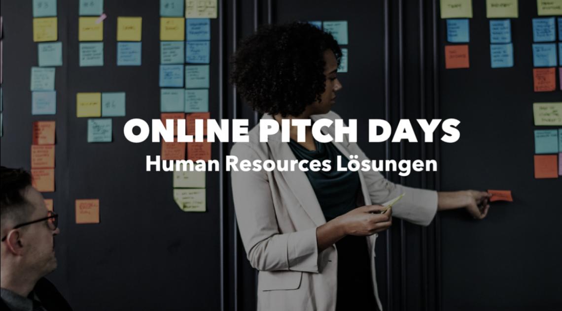 ONLINE PITCH DAY: Human Resources Lösungen am 20.10.2020