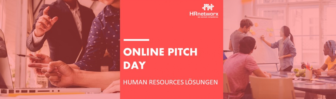 ONLINE PITCH DAY: Human Resources Lösungen am 04.02.2021