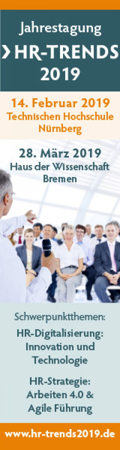 Fachtagung HR-Innovation: Arbeit 4.0 - Personalmanagement im digitalen Wandel