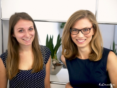 "Sophia und Katrin vom ""Recruiting is king Podcast"" im Interview"